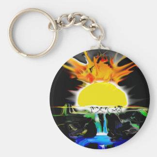 Sun Burn Keychain