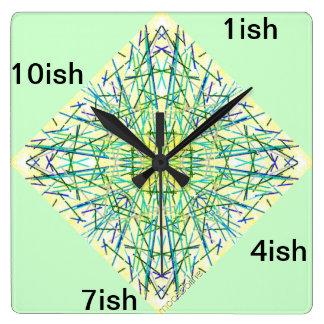 Sun Burst ish Wall Clock