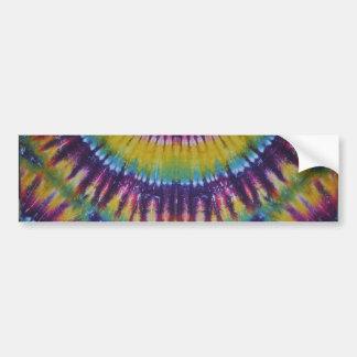 Sun Burst Tie Dye Bumper Sticker
