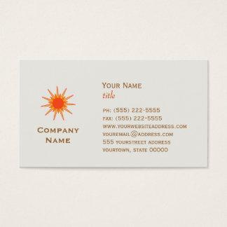 Sun Business Cards