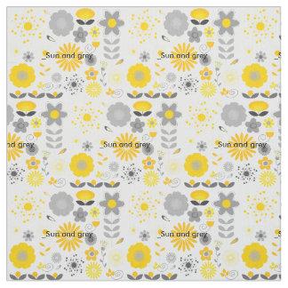 Sun but Grey Fabric