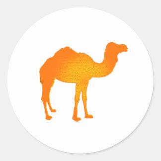 Sun Camel Classic Round Sticker