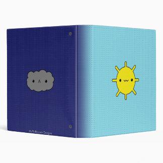 Sun & Cloud Binder
