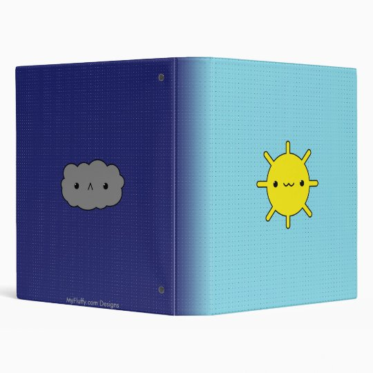 Sun & Cloud Binder