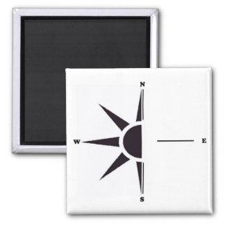Sun Compass Magnet