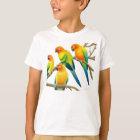 Sun Conure Parrots Kids T-Shirt