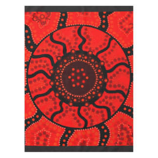 Sun Corroboree Aboriginal Designed Tablecloth