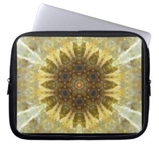 Sun Crystal Mandala Laptop Sleeve