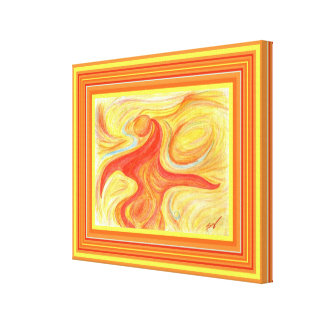 Sun Dancer Abstract, extra small Canvas Print