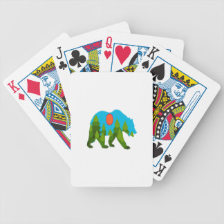 Sun Daydreams Bicycle Playing Cards