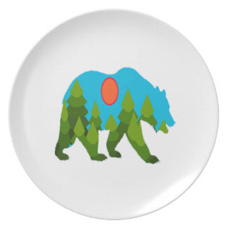 Sun Daydreams Dinner Plate