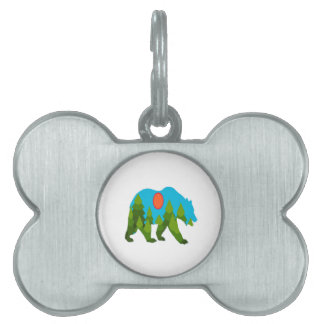 Sun Daydreams Pet ID Tag