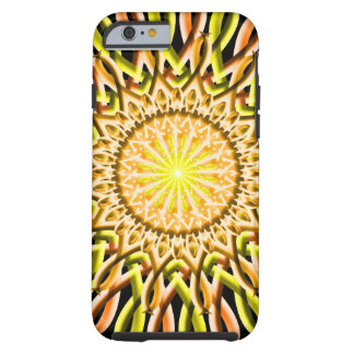 Sun Disc Mandala Tough iPhone 6 Case