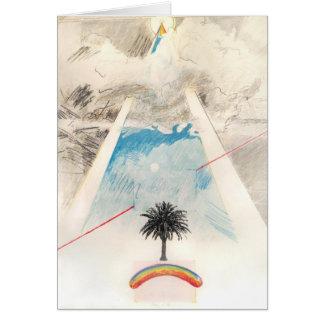 Sun Dog, Rockne Krebs, 1976. Notecard