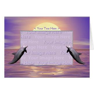 Sun Dolphins Card