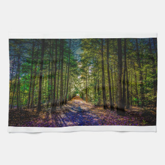 Sun Down Woods Kitchen Towel