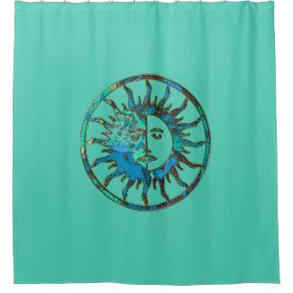 Sun et lune - vert bleu + votre backgr. et idées