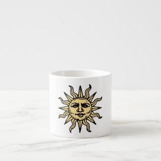 Sun Face Espresso Cup