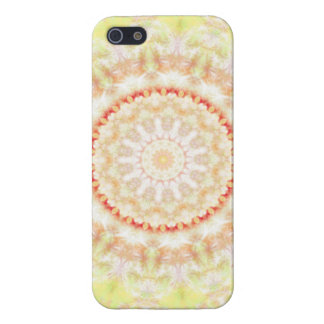 Sun Fire Mandala kaleidoscope iPhone 5/5S Cover