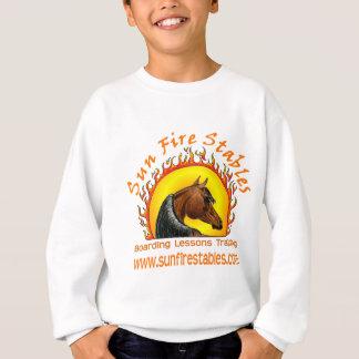 Sun Fire Stables Logo on Front Sweatshirt