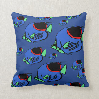 Sun Fish #3 Throw Pillow