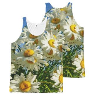 Sun Flower All Over Print Shirt