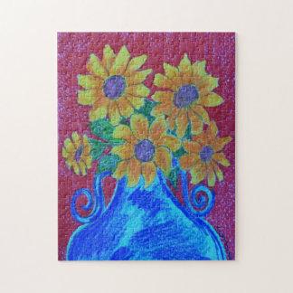 Sun Flower, Focus, puzzle
