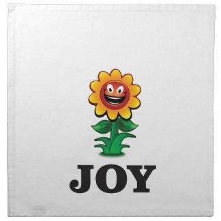 sun flower joy hope napkin