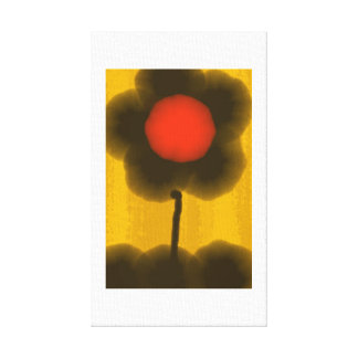 'Sun' Flower Smile Canvas Print