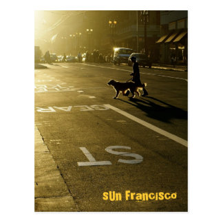 SUN Francisco - 10 Postcard