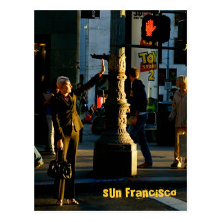 SUN Francisco - 4 Postcard
