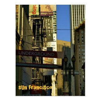 SUN Francisco - 6 Postcard