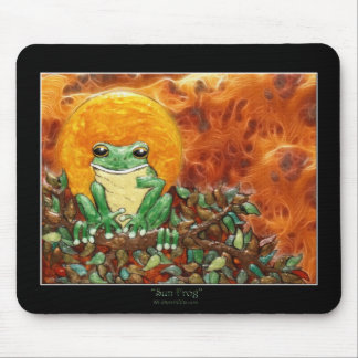 SUN FROG Mouse Pad