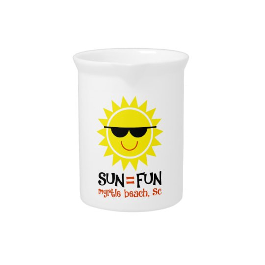 Sun = Fun Beverage Pitchers