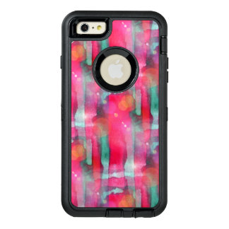 Sun glare abstract painted watercolor OtterBox iPhone 6/6s plus case