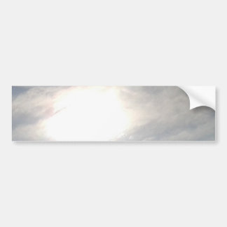 Sun Glow Bumper Sticker