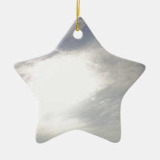 Sun Glow Ceramic Ornament