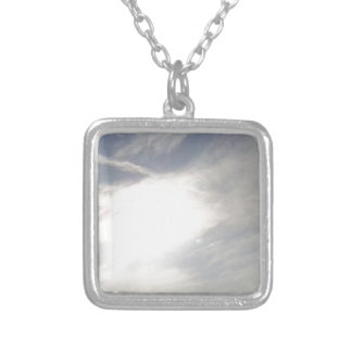 Sun Glow Silver Plated Necklace