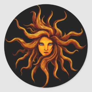 Sun Goddess Sticker