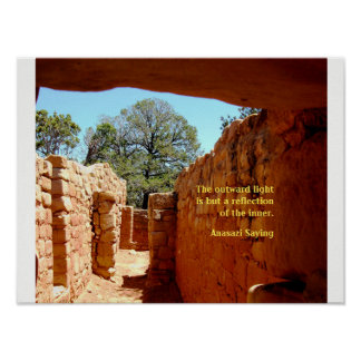 Sun House, Mesa Verde Poster
