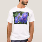 Sun Illuminated Blue and Lavender Morning Glories T-Shirt