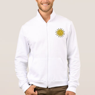 Sun in Glory + Splendour Men's Fleece Jacket