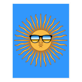 Sun in Shades Postcard