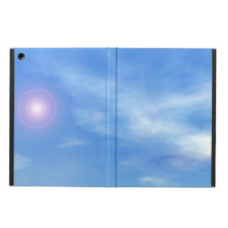 Sun in the sky background - 3D render iPad Air Cover