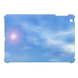 Sun in the sky background - 3D render iPad Mini Cover