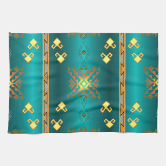 Sun In Winter Blanket Pattern Hand Towel