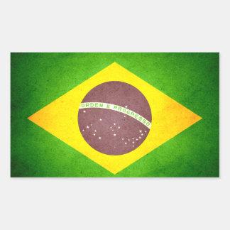 Sun kissed Brazil Flag Sticker