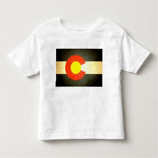Sun kissed Colorado Flag Toddler T-shirt