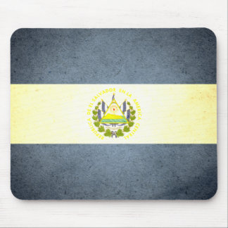 Sun kissed El Salvador Flag Mouse Pad