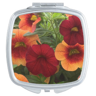 Sun Kissed Floral Vanity Mirror